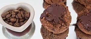 espresso muffins - close beans S