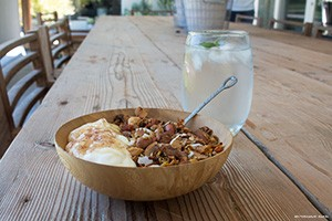 Granola with water S