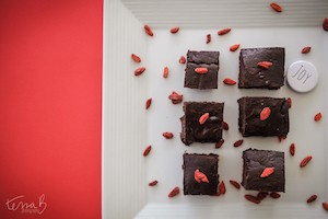 Goji Chocolate Brownies small