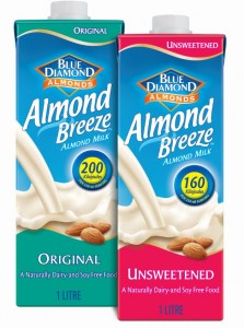 Almond breeze pack shot