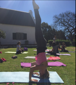 4. yoga headstand