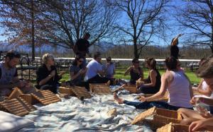 5. yoga picnic